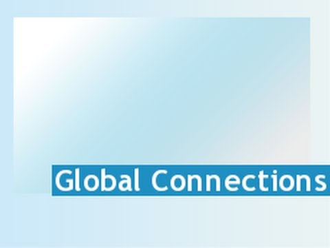 Global Connections - August 8, 2013