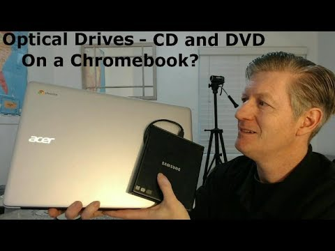 Optical Drives - CD and DVD on Chromebook - Audio CDs Updated 2018
