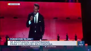 Volaron las entradas para el show de Luis Miguel en Córdoba