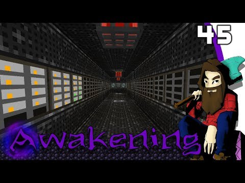 [Minecraft] AWAKENING #45 - Salle de serveur