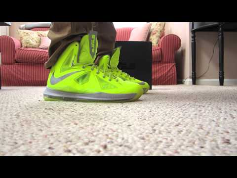LeBron X Volt Dunkman Review + On Feet 1080HD