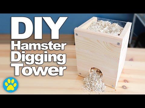 Erinsanimals youtube for Hamster bin cage tutorial