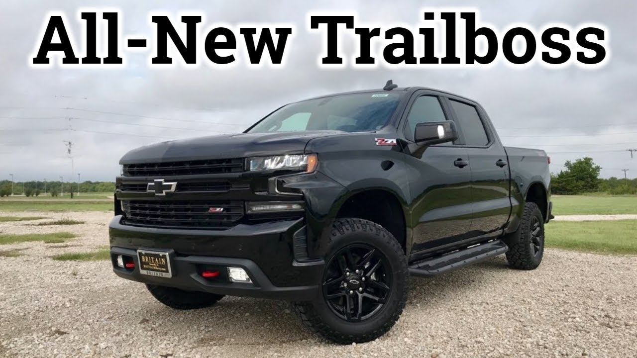 Review: 2019 Chevy Silverado LT Trailboss | Did Chevy Do ...