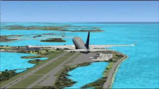 FSX - Cancun to Key West, Florida