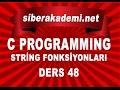 C Programming String Fonksiyonları Ders 48