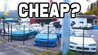 CARS FOR SALE IN JAPAN CHEAP?