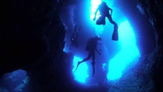 下地島エリア 水温23℃。透明度40m。