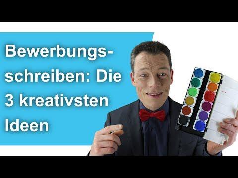 Bewerbungsschreiben: Die 3 Kreativsten Ideen Aller Zeiten. Bewerbung Schreiben. // M. Wehrle