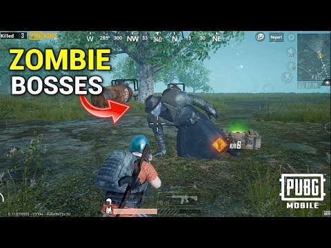 PUBG Mobile X Resident Evil 2 I All Types of Zombie Boss I BETA 0.11 Gameplay (Android) HD