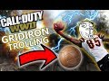 Call of Duty: WW2 Trolling Football Player on Gridiron!!