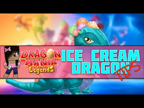 How To Breed Ice Cream Dragon | Dragon Mania Legends Mobile Game