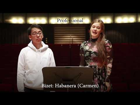 Professional Vs Beginner Opera Singer