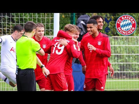 U19 Outperforms Spurs | Tottenham Hotspur Vs. FC Bayern 1-4 | Highlights - UEFA Youth League