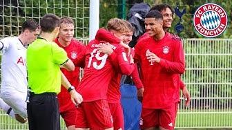 U19 outperforms Spurs | Tottenham Hotspur vs. FC Bayern 1-4 | Highlights - UEFA Youth League