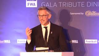 Gary Lineker delivers suṗerb tribute speech to Gareth Southgate