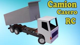 Camión Volquete Casero a Radio Control (muy fácil de hacer)