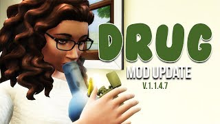BASEMENTAL DRUG MOD UPDATE | Edibles, Arrests, and MORE |The Sims 4 Mods