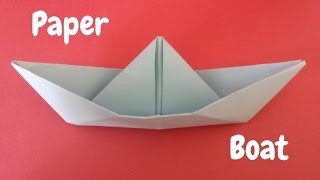 How to Make a Paper Boat | Origami Boat | Origami Step by Step Tutorial