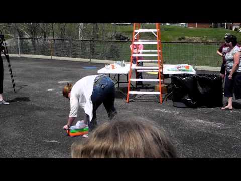Franklin Elementary Center Egg Drop