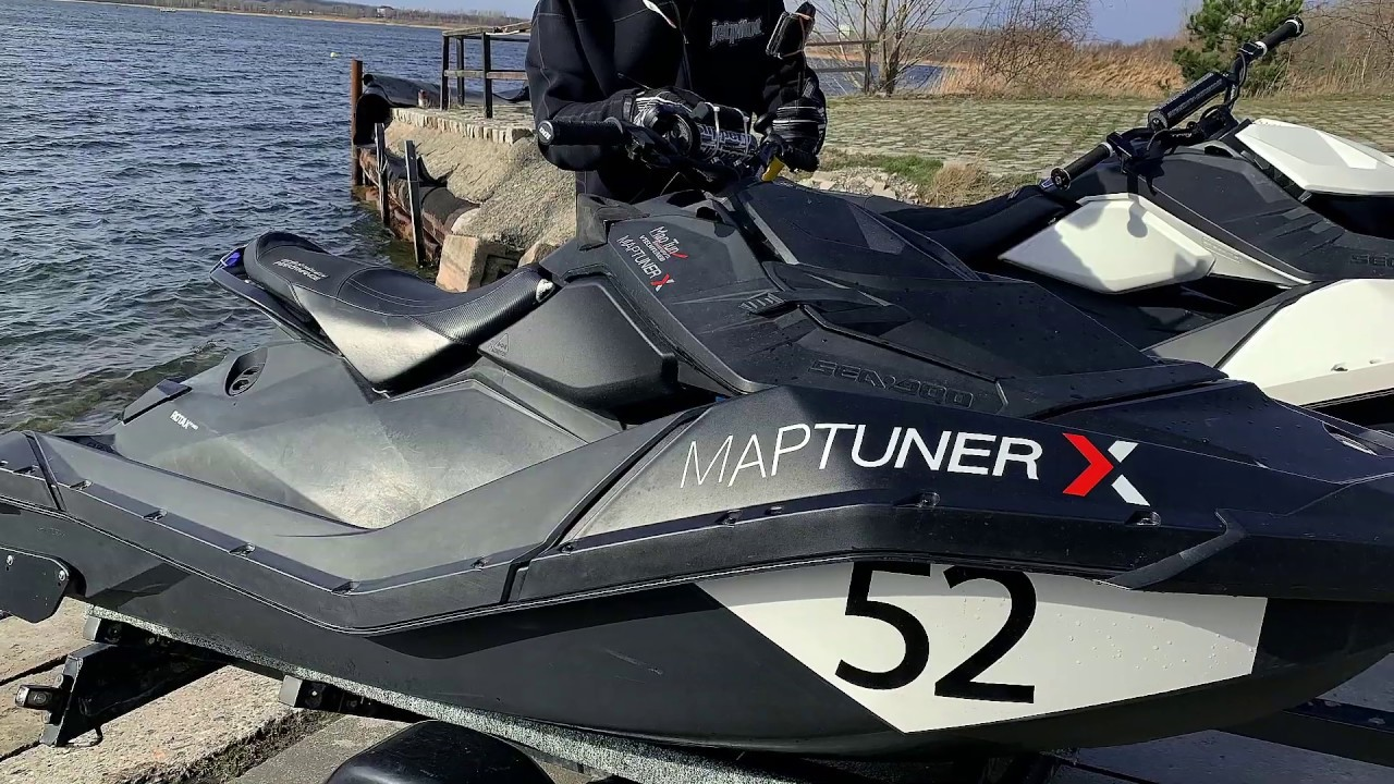 100kmh+ Sea-Doo Spark GP4 | MaptunerX on Nico Russ Racing Ski