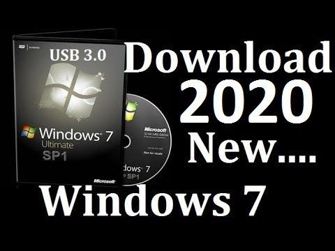 Windows 7 Ultimate Download  Sp1 x64 En Us  2020 (USB3 0+3.1) Pre Activated-Windows 7
