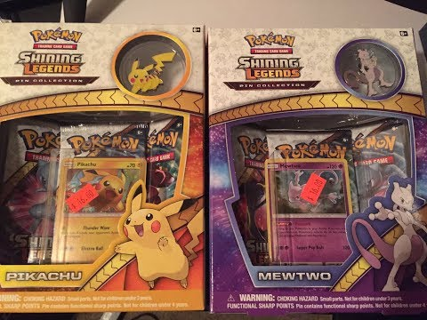 Shiny Hunting: TCG Style! || Shining Legends Pin Collections