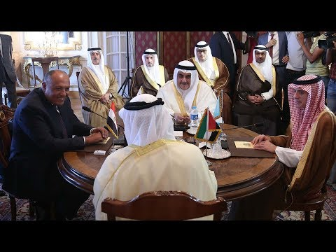 Foreign ministers meet but no solution in sight to Gulf crisis