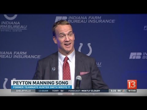Hunter Smith writes a song for Peyton Manning