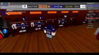 Roblox Legendary Football - New York Giants @ Chicago Bears - Part Two