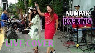 Gambar cover LIEA OWYEAH feat VELLA ZALADARA - NUMPAK RX-KING (Live Dangdut)