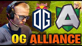 OG vs ALLIANCE EPICENTER Major 2019 Europe Closed Qualifier Dota 2