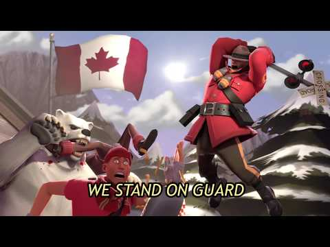 [TF2] Soldier Sings the Canadian National Anthem