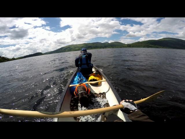 20170602 Loch Lomond Canoe