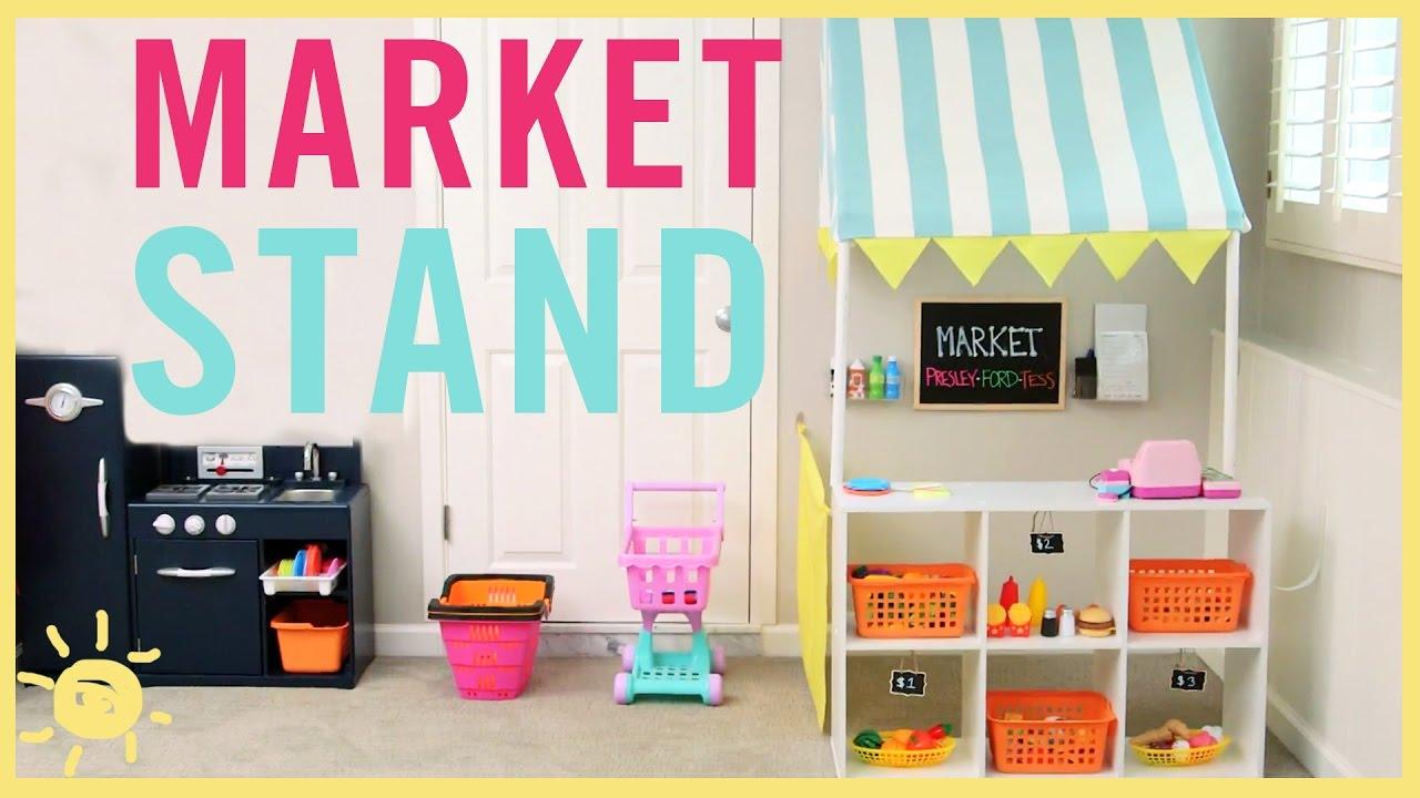 Diy Market Stand Tutorial