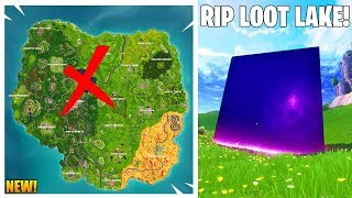 CUBE'S FINAL LOCATION LEAKED! // New Fortnite Update // Fortnite Battle Royale Gameplay