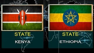 KENYA VS ETHIOPIA -  Military Power Comparsion.