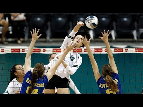 Rainbow Wahine Volleyball 2017 - Hawaii Vs UC Riverside