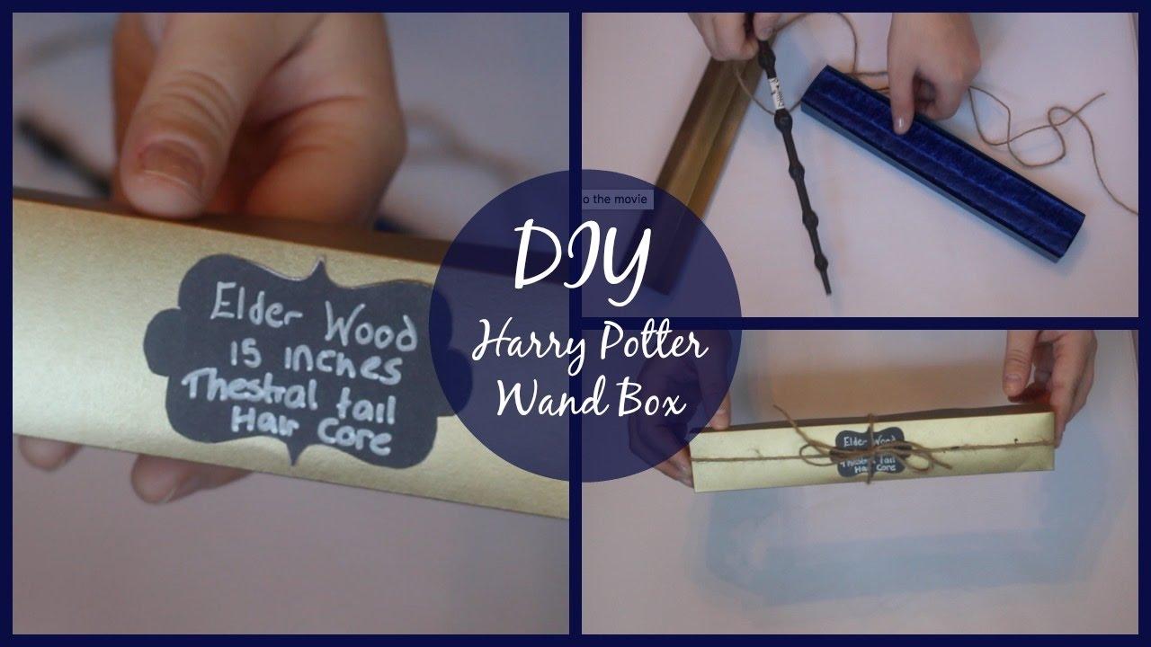 DIY Harry Potter Wand Box!  52883c4a244d