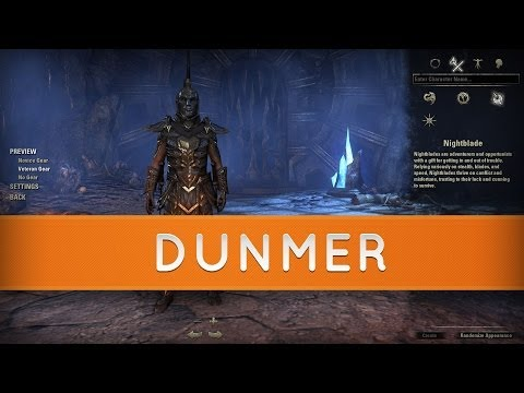 The Elder Scrolls Online: Races - Dunmer | Dark Elves