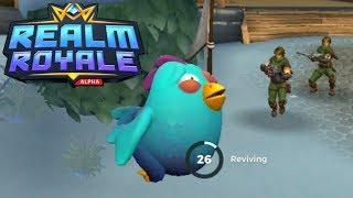 Realm Royale: Fantasy Fortnite for Non-Bob the Builders