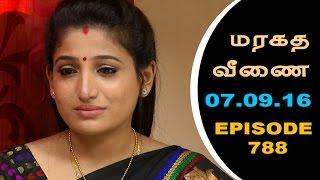 Maragadha Veenai Sun TV Episode 788 07/09/2016