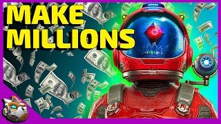 How To Farm and Make Millions Fast | No Man's Sky Beyond Update 2019
