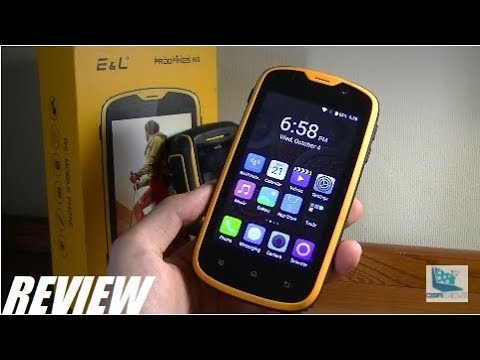 Review E L W5 Rugged Waterproof Android Smartphone