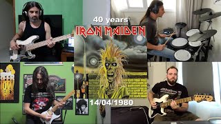 Prowler - Quarantine of the beast - iron maiden cover