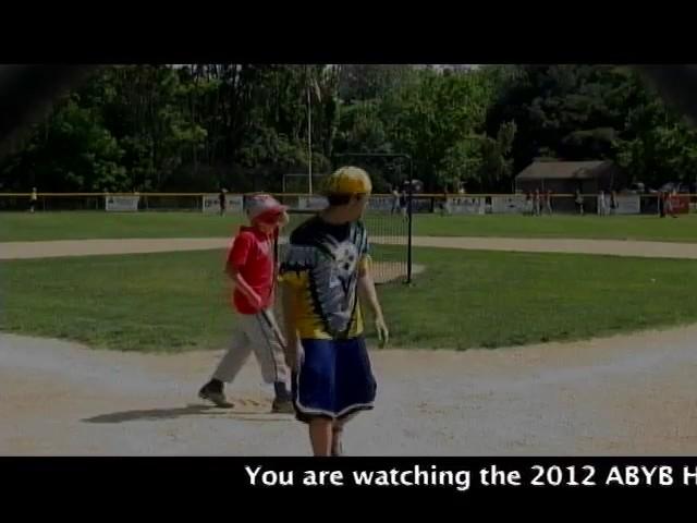 Acton Boxborough Youth Baseball Homerun Derby June 2012