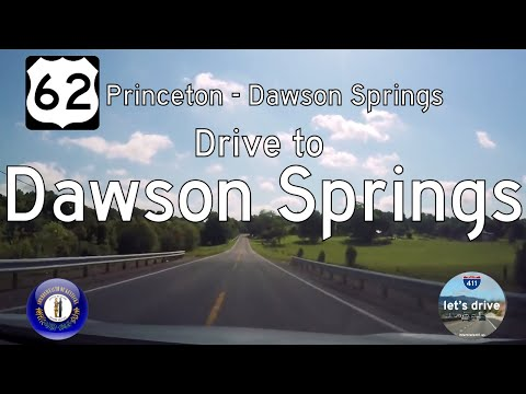 US Highway 62 - Princeton - Dawson Springs - Kentucky  |  Drive America's Highways 🚙