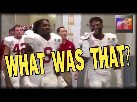 You Be the JUDGE! What Did This Alabama Running Back Yell At Trump Before the Big Game?