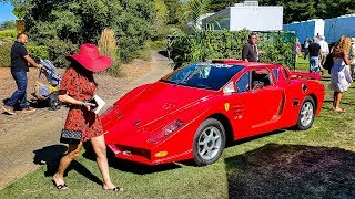 FAKE FERRARI TROLLS ITS WAY INTO PRESTIGIOUS CAR SHOW