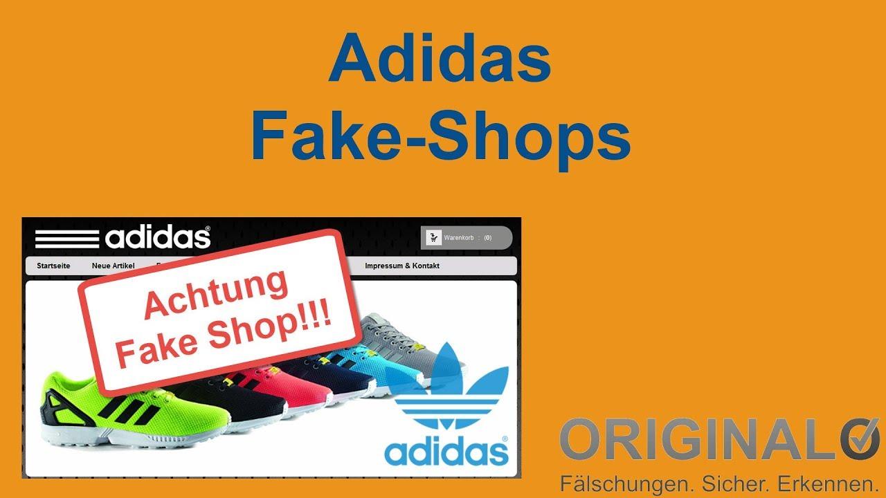 Adidas Fake Shops: Liste unseriöser Online Shops