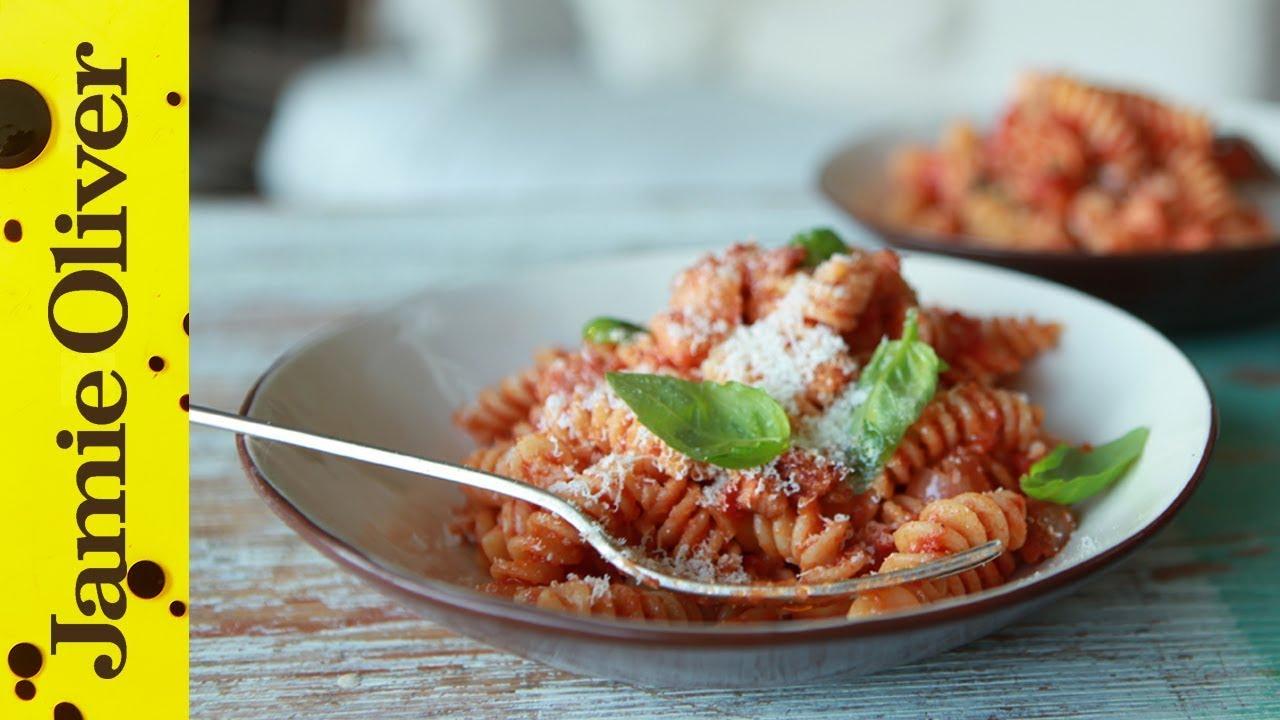 Classic Tomato Sauce | Super-Quick Pasta Sauces - YouTube